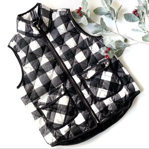 Woolrich Buffalo Plaid Down Vest